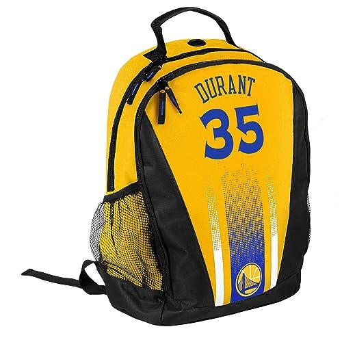 a581585860b Golden State Warriors 2016 Stripe Prime Time Backpack School Gym Bag - Kevin  Durant  35