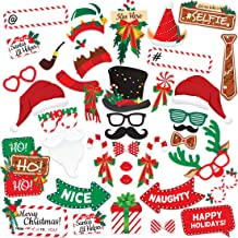 free holiday photo booth props