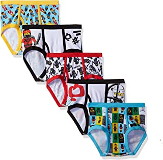 LEGO Boys' 5-Pack Ninjago Brief Underwear