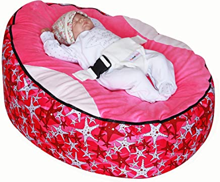 Pink Seastar Baby Bean Bag with Filling