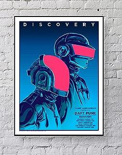MeiMeiZ Daft Punk Poster Standard Size   18-Inches by 24-Inches  Daft Punk Posters Wall Poster Print