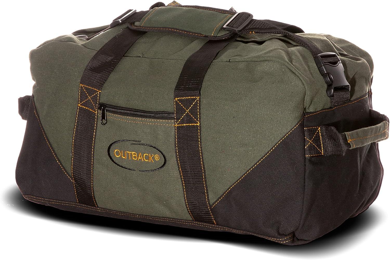 Ledmark Heavyweight Cotton Canvas Outback Gym Bag