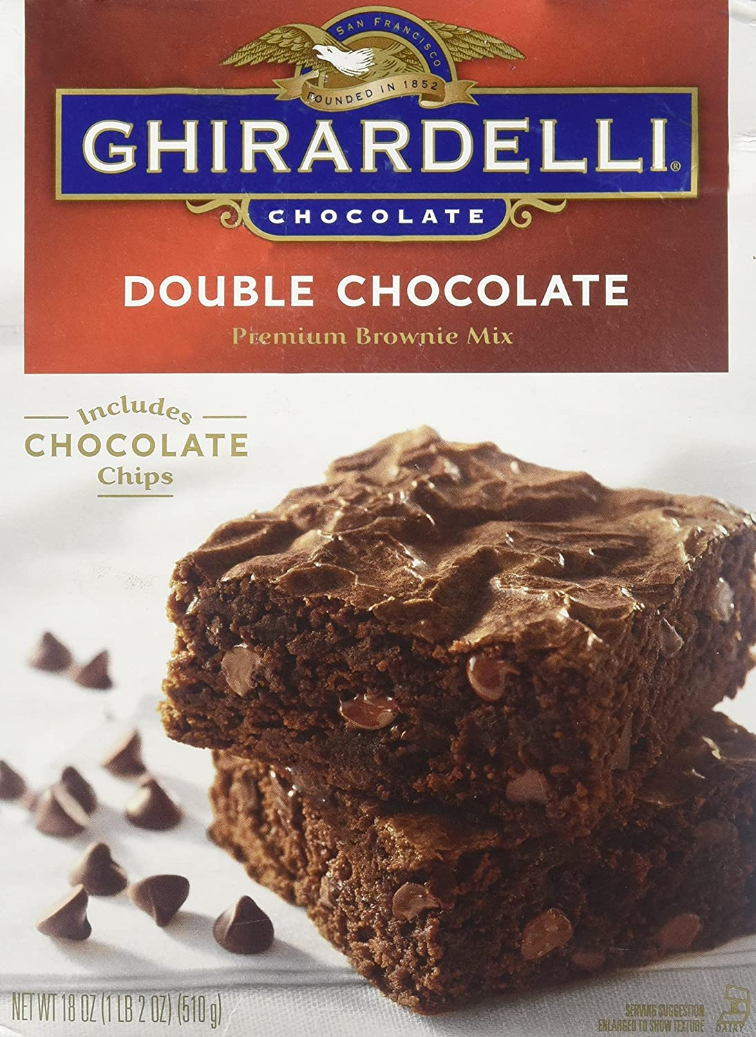 Ghirardelli Chocolate Double Washington Mall 18-oz Brownie Factory outlet Mix