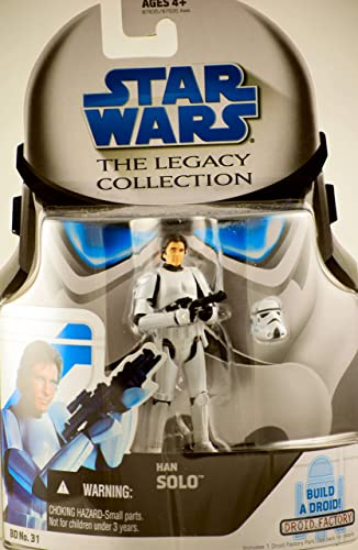 Star Wars Legacy Collection Han Solo In Stormtrooper Disguise
