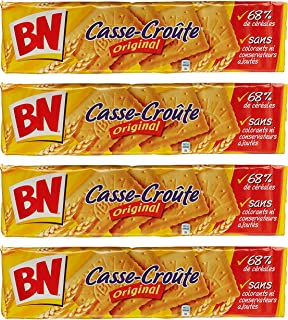 From France BN Biscuits Casse Croûte Original 375g Pack of 4