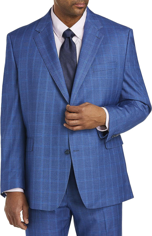 Tallia Windowpane Suit Jacket, Blue