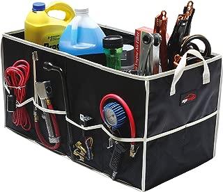 EPAuto Collapsible Cargo Trunk Storage Organizer Container for Car/Truck/SUV/Minivan, Black (24.75