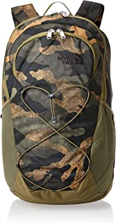 North Face Rodey Backpack- Burnt Olive Green Woods Camo Print T93KVCG2G-OS