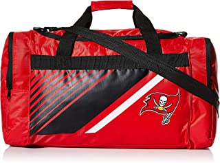 FOCO NFL Unisex Border Stripe Duffle Bag