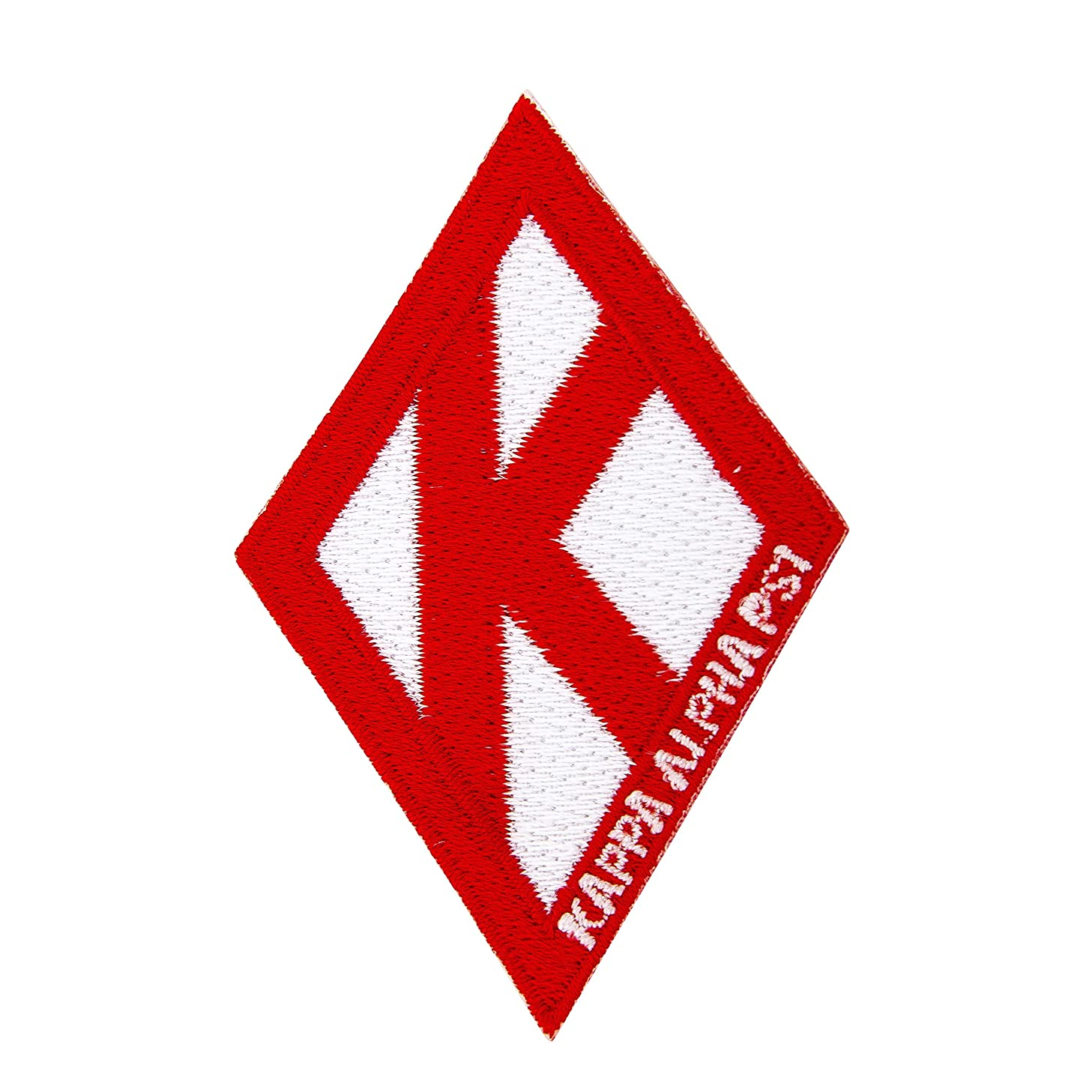 Kappa Alpha Psi Fraternity Diamond w/Group Name Embroidered Appliqué Patch Sew or Iron On Greek Blazer Jacket Bag Nupe (Diamond Group Name Patch)