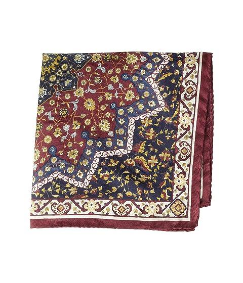 Eton Persain Carpet Print Pocket Square