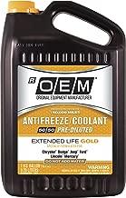 OEM 86-834GOEMFC Premium Antifreeze 50/50 Extended Life Gold, 128. Fluid_Ounces