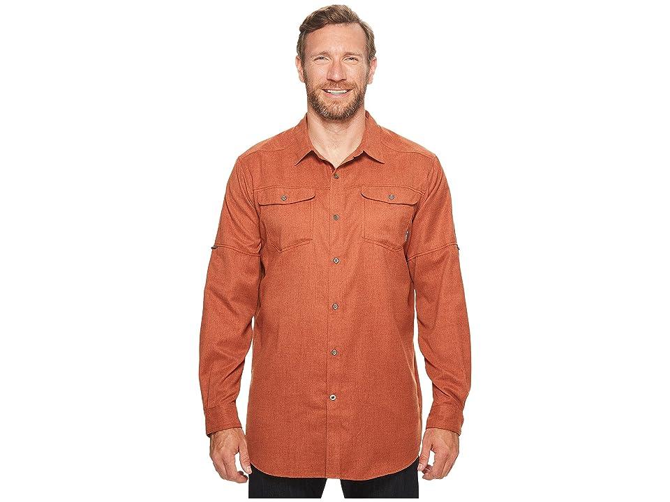 Columbia Big Tall Pilsner Lodge Long Sleeve Shirt (Rusty Heather) Men