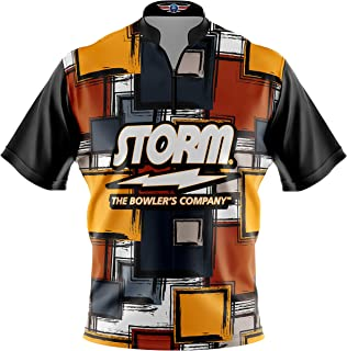 Logo Infusion Bowling Dye-Sublimated Jersey (Sash Collar) - Storm Style 0367 - Sizes S-3XL