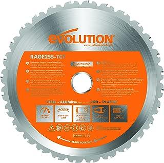 Evolution Power Tools RAGE255Blade Multi-Purpose Cutting Blade for RAGE3, 10-Inch