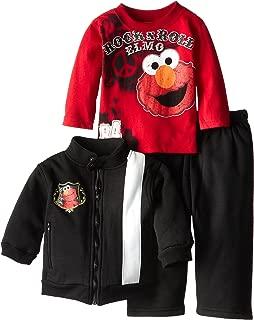 Sesame Street Baby Boys' Rock and Roll Elmo Set