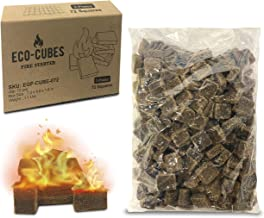 Eco Cubes Fire Starter Squares – Great Fire Starters for Chimney