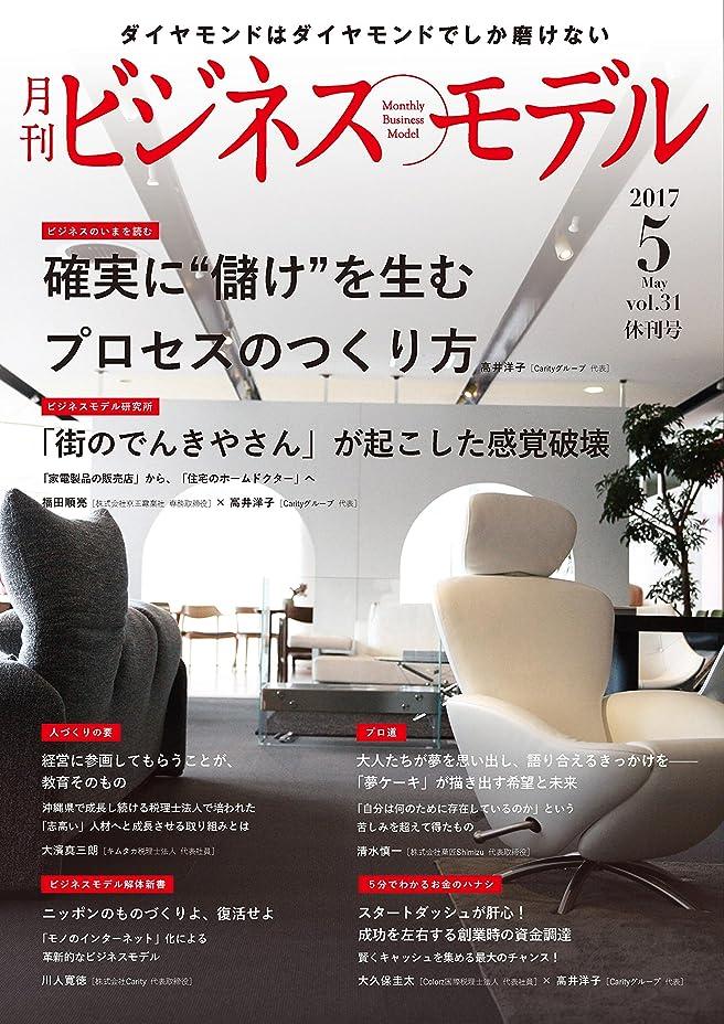 属性入場料コメント月刊ビジネスモデル 2017年5月号