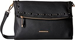 Stud Tunnel Flap Crossbody