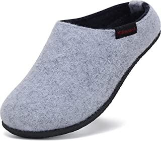 Mishansha Zapatillas de casa de Fieltro Niños Invierno Pantuflas Zapatos de Casa Interior Gr.28-35