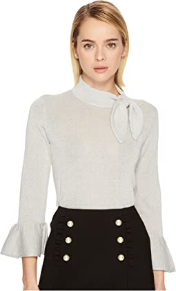 Kate Spade New York - Metallic Knot Sweater
