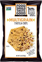 Food Should Taste Good, Tortilla Chips, Multigrain, Gluten Free Chips, 5.5 oz (Pack of 12)