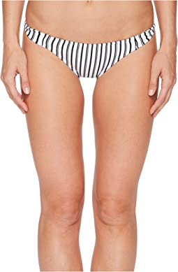 Highway Stripe Twist Tab Side Bikini Bottom