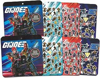 GI Joe Ultimate Sticker Pack Set ~ 600 GI Joe Soldier Stickers Featuring GI Joe, Cobra Commander and More | GI Joe Sticker...