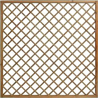 Celosía de madera enmarcada tratada en autoclave de 1200× ...