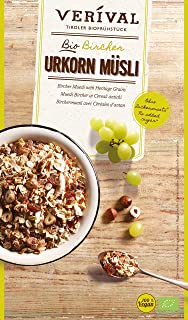 Verival Organic Bircher Muesli with Heritage Grains, 375 g