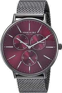 Kenneth Cole New York Men's Dress Sport Quartz Watch with Stainless-Steel Strap, Grey, 14 (Model: KC14946012)