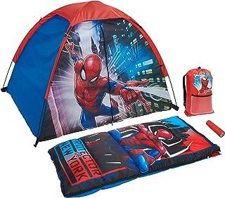 Marvel Spiderman 4 Piece Camp Kit