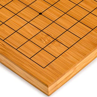 Yellow Mountain Imports Bamboo Go Table Board, Goban, 0.8 of an Inch Thick