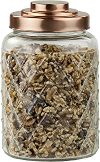 Best glass canisters with copper lids Reviews