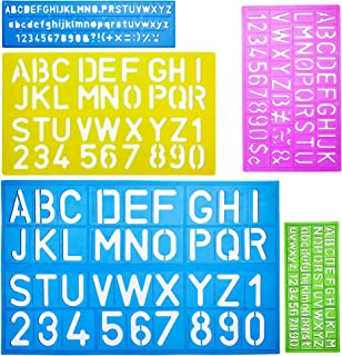 Best cheap alphabet stencils Reviews