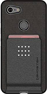 Ghostek Exec Slim Card Slot Holder Wallet Case Designed for Google Pixel 3 XL - Black