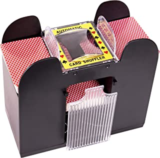 Silly Goose Automatic 6-Deck Card Shuffler; Poker, Blackjack