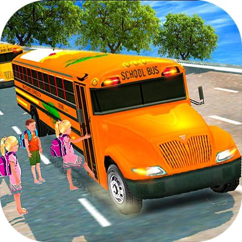 High School Bus Driving 3D