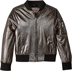 Ziggy Metallic Bomber Jacket (Little Kids/Big Kids)