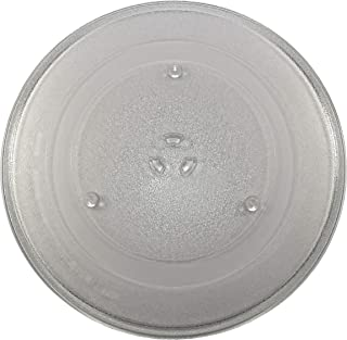 HQRP 14-1/8 inch Glass Turntable Tray fits GE WB49X10063 WB49X10193 CVM2072SM1SS DVM1850DM2BB EMO4000JBB01 HDM1853BJ01 JNM1851DM2BB JVM1840AD001 JVM1842WD001 Microwave Oven Cooking Plate 360mm