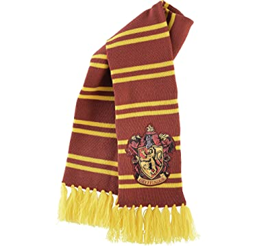 """Suit Yourself Gryffindor Scarf, Harry Potter Halloween Costume Accessories, 6 1/2"""" W x 50"""" L"""