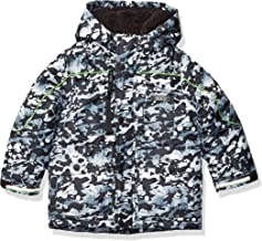 London Fog Boys' Warm Winter Coat Parka with Cozy Trimmed Hood
