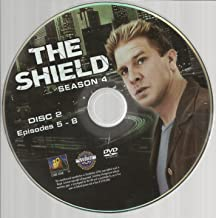The Shield Season 4 Disc 2 Replacement Disc Episodes 5-8!