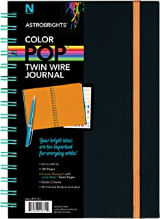 "Astrobrights Twin Wire Journal, 6.5"" x 8.5"", Multi-Color Ruled Pages, 180 Pages(99728)"