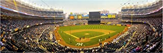 ArtsyCanvas Yankee Stadium at Dusk - Baseball Field - 36x12 Matte Poster Print Wall Art