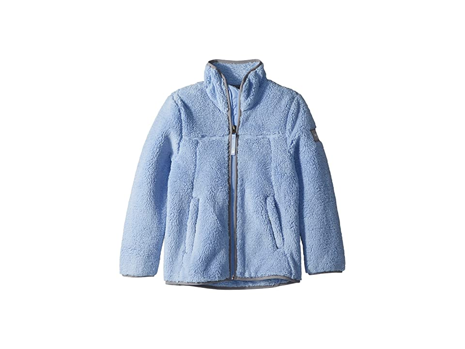 The North Face Kids Campshire Full Zip (Little Kids/Big Kids) (Collar Blue) Girl