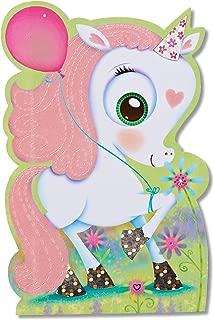 American Greetings Birthday Card for Girl (Unicorn)