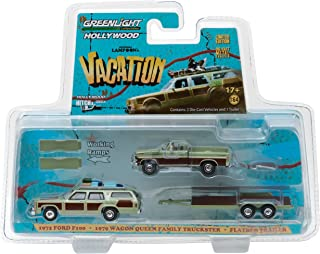 GREENLIGHT 44730 A 1979 FAMILY WAGON QUEEN 1//64 NATIONAL LAMPOONS VACATION LIPS