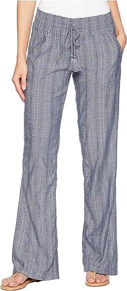 Oceanside Yarn-Dyed Pants