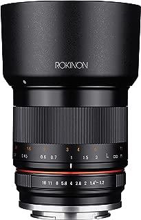 Rokinon 35mm F1.2 High Speed Wide Angle Lens for Fujifilm X Mount - Black - Fuji X